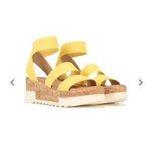 Steve Madden Bandi Wedge Platform Sandal Size 8